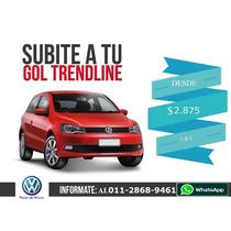 Vw Gol Trend- Liquido Plan 100 % - Oportunidad A $ 57.000
