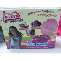 Juliana Glitter Look Apliques De Pelo Envio Sin Cargo Caba