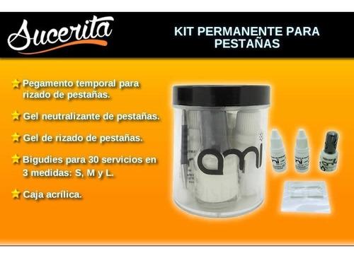 Kit De Permanente De Pestañas 50 Servicios 700 En