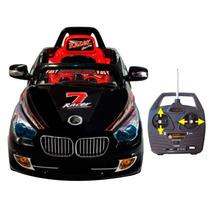 Auto A Bateria Bmw,control Remoto,luces,mp3,radio Fm,jeep