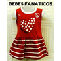 Vestido.independiente* Oficial Bebe*body Camiseta River Boca