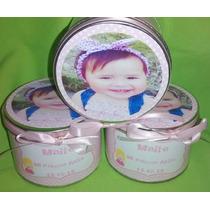 Latas Personalizadas Souvenirs X10 Cumpleaños Infantiles 50