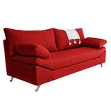 Sillon Sofa 2 Cuerpos Linea Premium Pata Cromada Fullconfort