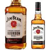 Whisky Jim Beam Bourbon White 1lt Americano Bebidas Tragos
