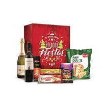 Caja De Navidad  Roja 7 Productos