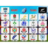 Pósters Rugby Teams Los Pumas All Blacks Springbok ...120x90