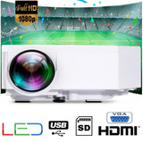 Proyector Portatil Mini Led Uc30 Full Hd 100'' Hdmi Vga Usb