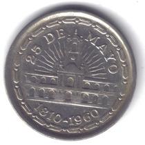 Argentina 150 Años Revolución De Mayo 1 Peso 1960