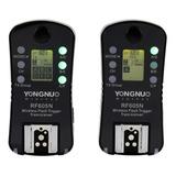 Radio Disparador Inalambrico Yongnuo Rf605 Nikon Canon Par 2