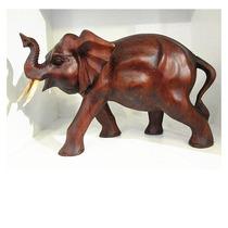 Elefante De Madera Grande Importado India