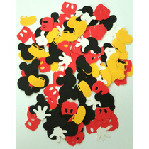 Confetti-papel Picado Especial. Mickey-minnie Y Más