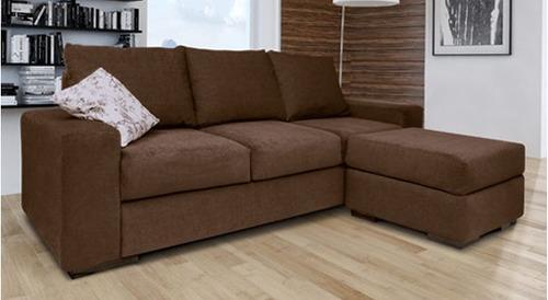 Sillon sofa esquinero 3 cuerpos chenille premium compra y for Sillones 3 cuerpos chenille
