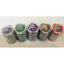 Fichas Poker 11g- Tubo X 20