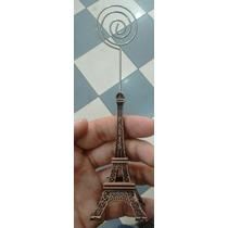 Torre Eiffel Paris Porta Foto Tarjeta Decoracion