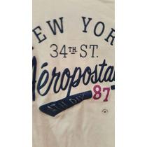 Aeropostal Remera T Shirt Blanca