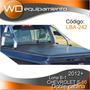 Lona Chevrolet S10 B-1 Doble Cabina 2012+ (bracco)