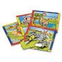 Juguetes Infantiles Puzzle Zoo Chico X 4 Art.557 Duravit