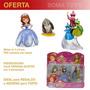 Adorno P/ Torta Princesa Sofia Set Personajes Muñecos Envíos