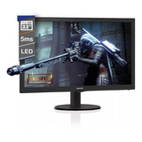 Monitor Led Philips 22 Pulgadas Full Hd 1080p Hdmi 223v5lhsb 18 Ctas