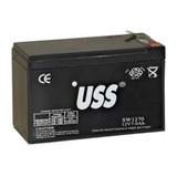 Bateria Recargable  Gel 12v 7ah Ups Alarma Vehiculos Luces