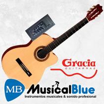 Guitarra Clasica Gracia M8 C/ Eq 4bds C/ Funda
