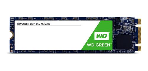 Disco Sólido Interno Western Digital Wd Green Wds480g2g0b 480gb Verde