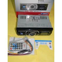 Stereo Radio Am Fm Mp3 Usb Sd Memory Card Slop Control K1010