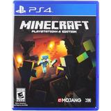 Minecraft Ps4 Fisico Nuevo Original Play Station 4 Sellado!