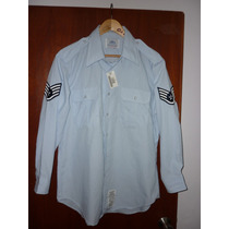 Espectacular!! Camisa Orig. M/l Air Force Sargent