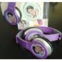 Auricular Con Imagen De Violeta. Potente, Agradable Sonido