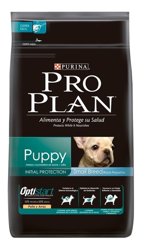 Alimento Pro Plan Puppy Perro Cachorro Raza Pequeña Pollo/arroz 7.5kg
