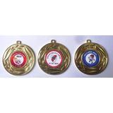 Medallas De Metal  50 Mm .