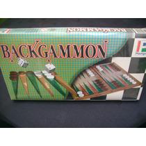 Backgammon, Juego De Mesa Sano Para Toda La Familia.