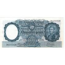 Bottero 2108 500 Pesos Moneda Nacional