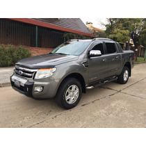 Ford Ranger 3.2tdci 4x4 Limited Mt 2013 Gris Oscura Nueva!!