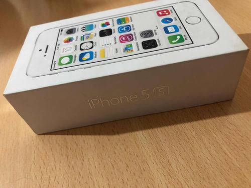 0aaa71e1c06 Cajas De iPhone 5s 5e Y 6s Plus S/accesorios Solo Folletos