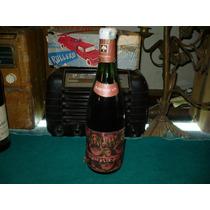 Antigua Botella Cerrada De Vino Los Nogales Barbera De Asti