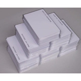 Tarjetas De Pvc Rfid 125 Khz Numeradas Proximidad Acceso Fina Slim