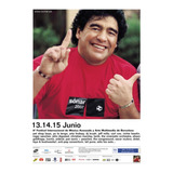 Afiche Diego Maradona  Festival Sonar 2002