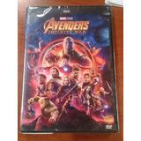 Dvd Avengers - Los Vengadores - Infinity War Original Nueva