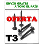 Tornillo T3 6 X 1 1/2 Punta Aguja Pasofino Durlock X10.000 U