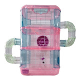 Jaula Para Hamster - Hamstera Acrilica 3 Piso - Rosario
