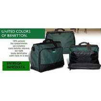 Bolso Benetton De Mano Ideal Para Trabajar O Viajes Cortos