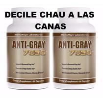 Anti Gray 7050 Decile Adios A Las Canas Con Catalasa De Usa.