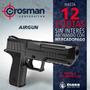 Pistola Crosman P15b + Funda Agente Oficial - Microcento -