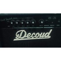Amplificador Decoud Rs 26 Para Guitarra Electrica