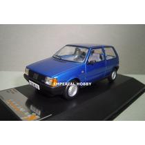 Fiat Uno 1983 - Clasico Argentino - Azul - Premium X 1/43