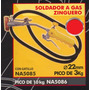 Soldador A Gas Zinguero Pico De 10kg Black Jack Na5086#