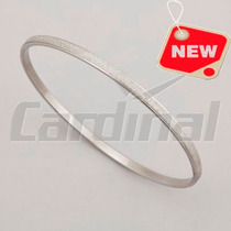 Pulsera Esclava Diamantada Acero Cardinal Para Regalo