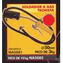 Soldador A Gas Techista Pico De 3kg Black Jack Na5081#